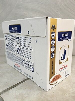 Royal Canin Veterinary Diet - Renal, poulet- 12 x 85 g