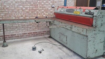 Edwards Besco-Truecut Guillotine Cutting Length 1900Mm Model 6/125