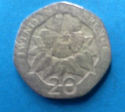 Very collectible 1998 St Helena Ascension 20p coin