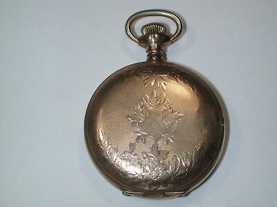 American O Size YGF Hunting Pocket Watch Case. 149M