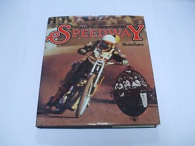 Rare The Illustrated Book of Speedway Book by Martin Rogers