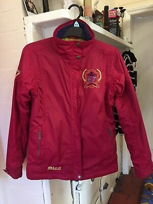 Just Togs Mizz girls riding coat / jacket age 9/10 immaculate