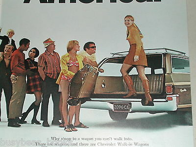 1970 Chevrolet ad, Chevy Kingswood Estate wagon