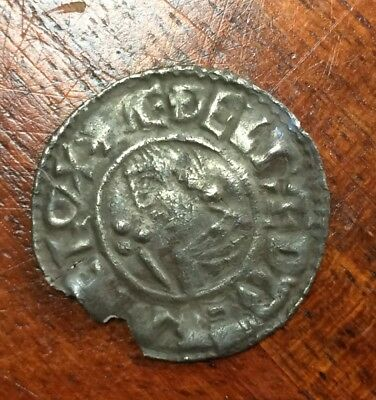 Aethelred II Penny Crux Type Aelfwold London VF condition