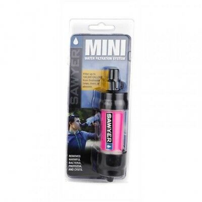 Sawyer MINI Water Filter Pink  Sawyer + FREE DELIVERY