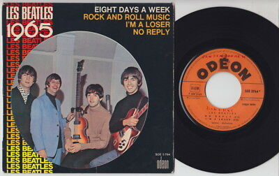 The BEATLES * Les Beatles 1965 * French EP *