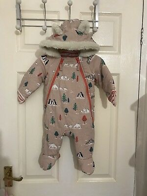 Baby Boden 3-6 Months Snow Suit