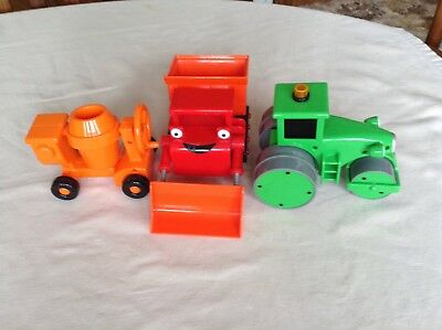 Bob The Builder Toys-three full size.