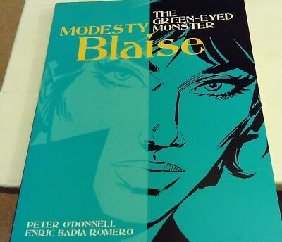 modesty blaise the green-eyed monster. Peter o'donnell enric Badia romero