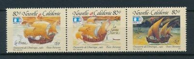 [94290] New Caledonia 1992 Boats good set Very Fine MNH Airmail stamps