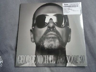 "George Michael Freedom 90 Uk Hmv Exclusive 7"" Sealed Listen Without Prejudice"