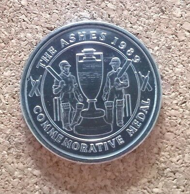 The Ashes 1989 Commemorative medal