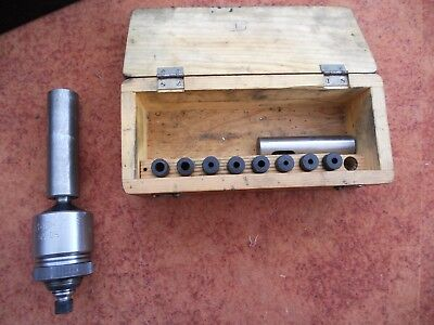 Drill SPV tapping head complete with full set of collet tap holders CNC