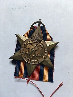 THE BURMA STAR Guaranteed Original British WW2 Medal + Ribbon