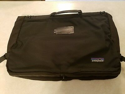 "Patagonia MLC Burrito Travel Carry On Luggage Bag 46"" x 24"" Tri Fold Black Color"