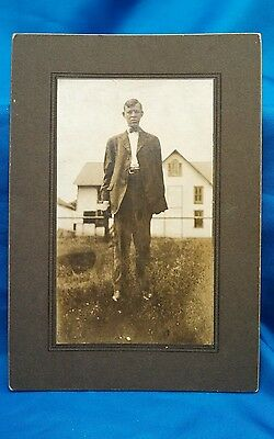 Old Giant Man Picture,sideshow Freak,deformed,macabe,oddity,curio,museum,art