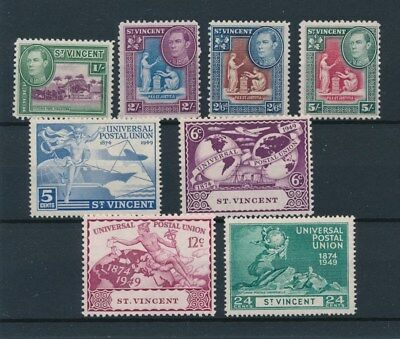 [96511] St. Vincent good lot Very Fine MH stamps