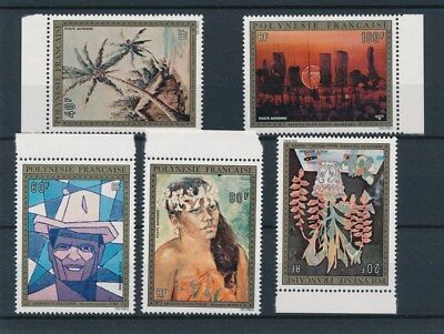 [96562] Polynesia 1974 Paintings good set Very Fine MNH Airmail stamps V: $280