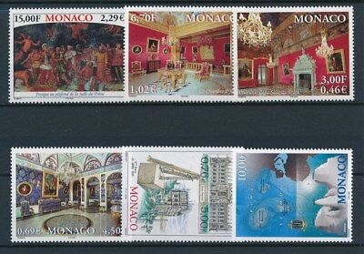 [97004] Monaco Art Painting good set Very Fine MNH stamps
