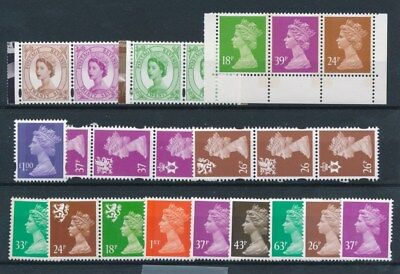 [97066] UK Queen Elizabeth II good lot Very Fine MNH stamps