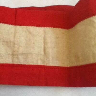 Unknown German WW2 Red and White Armband