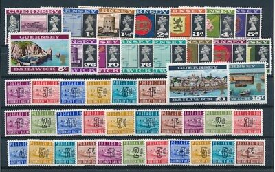 [G95021] Guernsey good lot Very Fine MNH stamps