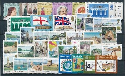 [G95032] Guernsey good lot Very Fine MNH stamps
