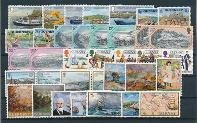 [G95033] Guernsey good lot Very Fine MNH stamps