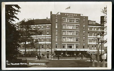 SOUTHAMPTON. The Polygon Hotel (demolished in 1999 - now flats) Wade's c1950 RP