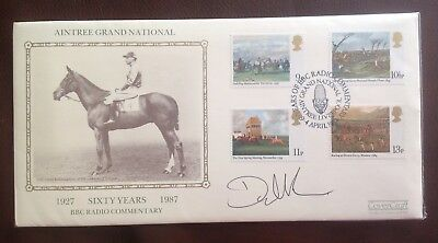 First Day Cover signed by Donald McCain