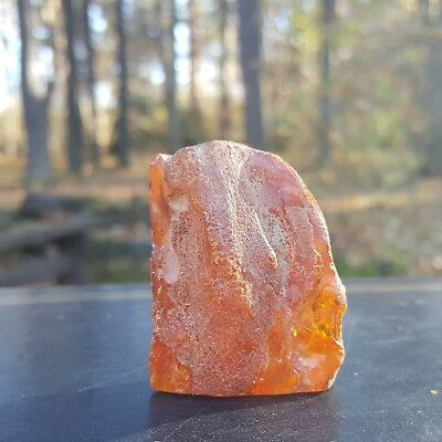 BALTIC AMBER STONE, 21 g. GENUINE BALTIC AMBER.