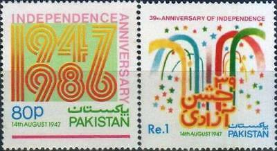 Pakistan Stamps 1986 Independence Day MNH