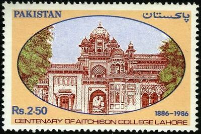 Pakistan Stamps 1986 Centenary of Aitchison College Lahore MNH