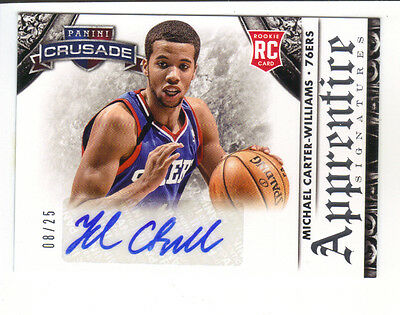 2013-14 Panini Crusade M.C.Williams Apprentice RC Signatures ed./25 !!!!!!SP