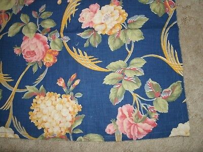 Vintage Cotton Print Fabric Pc.