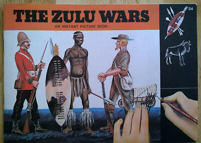 """PARTLY USED"" PATTERSON BLICK No. 34 - THE ZULU WARS - LETRASET / TRANSFERS 1973"