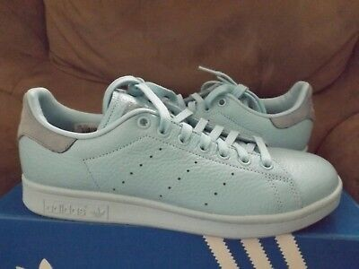 56a97c40f Adidas Originals Stan Smith Men.s Fashion Sneakers Ice Blue  BZ0472 New w