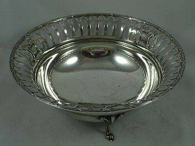 PRETTY solid silver FRUIT BOWL, 1911, 336gm