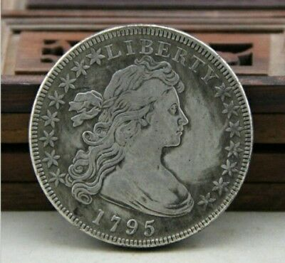 Antique Coin Of the Old Copper Silver Beauty and Foreign Silver Eagle 1795