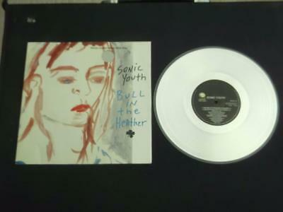 """Sonic Youth Bull In The Heather 1994 Uk 3 Track 10"""" Silver Vinyl Record Ep"""