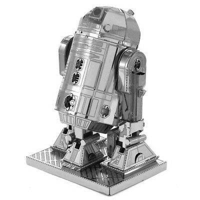 Star Wars R2D2 3D Metallic Puzzle Educational Jigsaw Metal Puzzle Toy