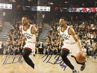 Norman Powell Autographed Signed 8x10 Photos