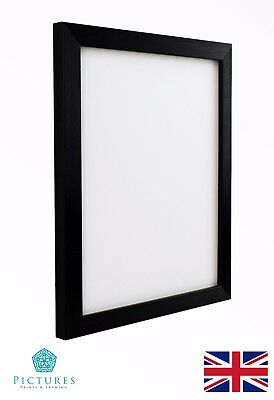 "Black Photo Picture Poster Panoramic Frames 3x3""-12x16"" A6-A3 +cm Frame Sizes 28"