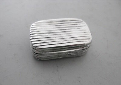 Georgian Solid Silver Vinaigrette with Pierced Grille