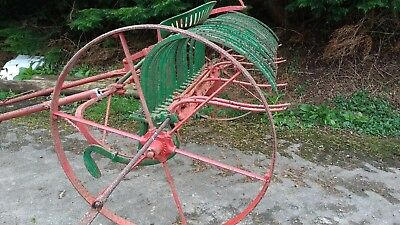 Huxtable Horse Drawn Extending  Hay Rake