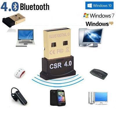 Bluetooth 4.0 Wireless Dongle Micro Tiny Adapter For PC Laptop Mobiles Phone