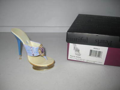 Just the Right Shoe by Raine Pearly Gates 802817 Complete COA Department 56