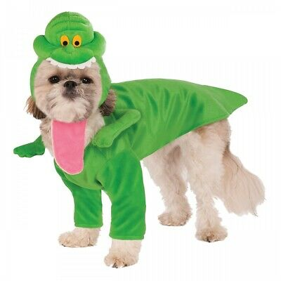 Slimer Costume Pet Ghostbusters Halloween Fancy Dress