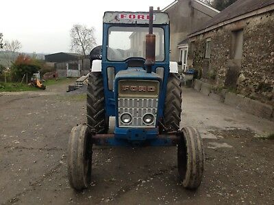 Ford 4000 Tractor With In Box Power Steering