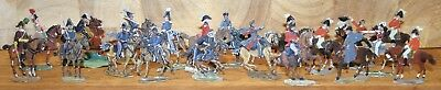 Napoleonic Wars Lead/Tin Flat Soldiers - French & Allies, British & Allies Staff